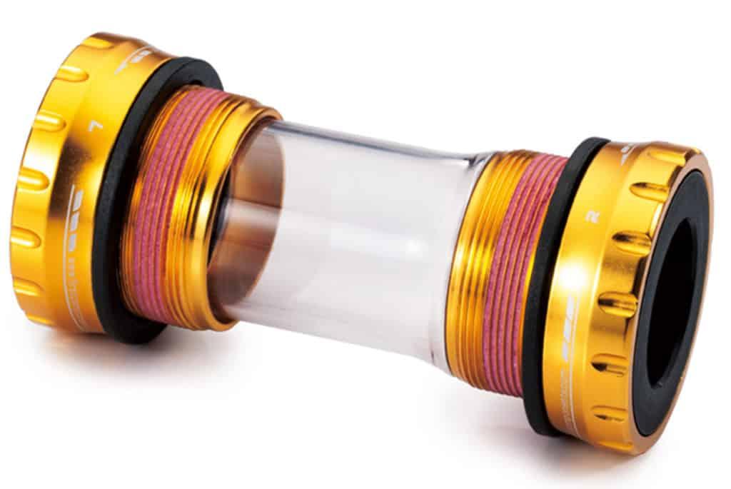 External Bottom Bracket sealed bearings for 68-73mm shell gold