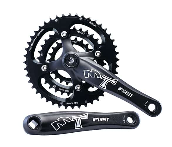 Mountain Bike Crankset with crank arm