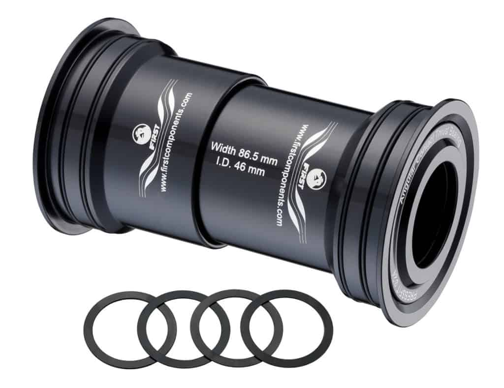 Press Fit Bottom Bracket I.D. 46mm width 86.5mm (Shimano)