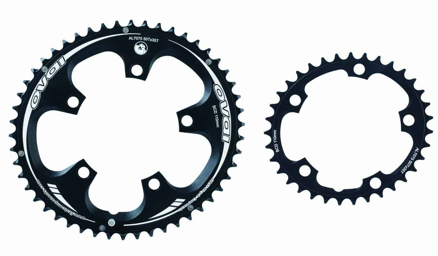 oval road bike chainrings