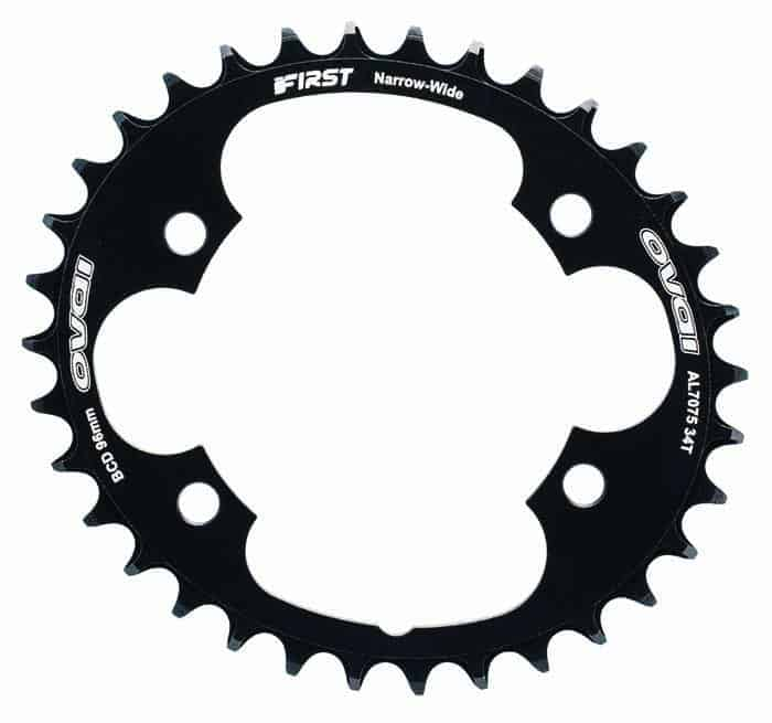 Road Bike Chainring oval
