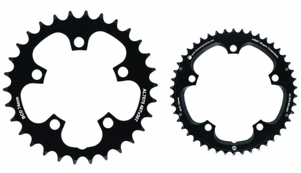Road Bike Chainrings 130mm 74 mm