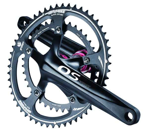 Road Bike Crankset Semi Oval
