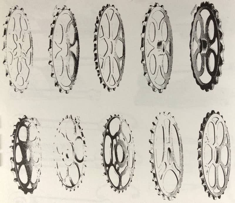 1907 Chainrings