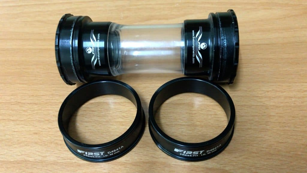 41mm press fit bottom bracket and converter cups