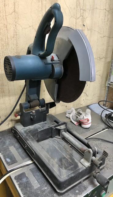 Abrasive Steel Cutting Machine