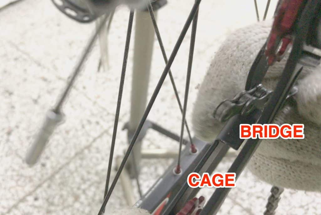 Installing Chain into Rear Derailleur Cage