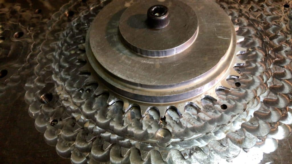 Chainring Bolted Plate
