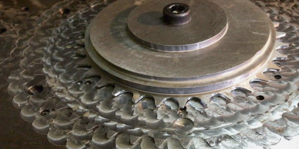 Cnc Milling Chainring Bolted Plate