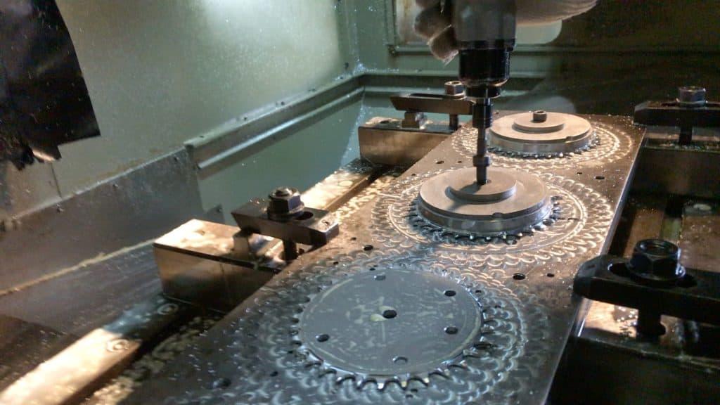Cnc Milling Machine Plates