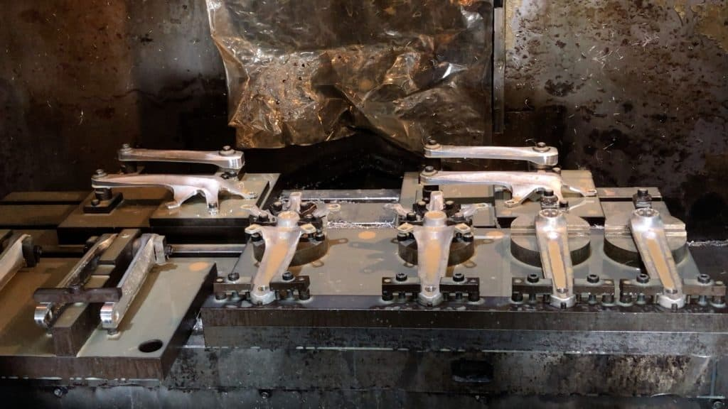 Crank Arms In Cnc machine