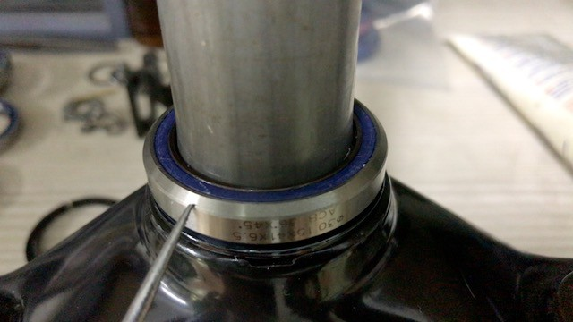 Crown Race Bearing Surface