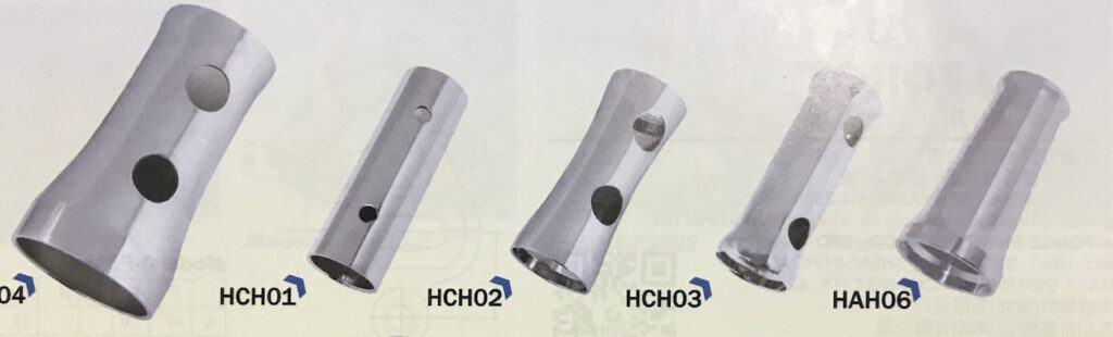 Head Tubes range from manufacturer