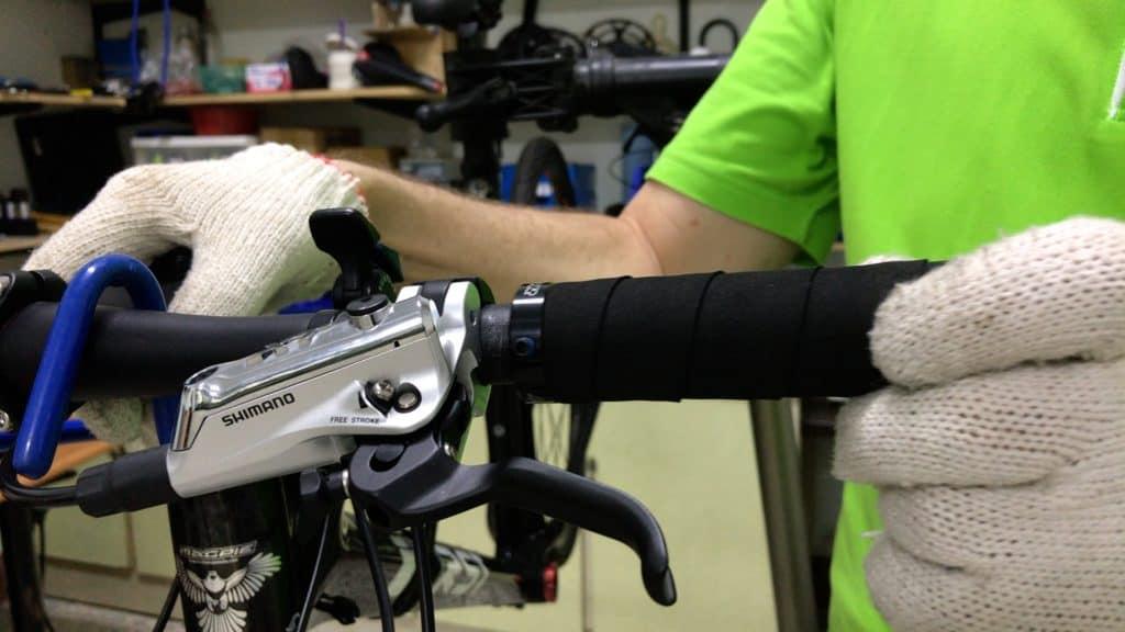 Installing Handlebar Grip