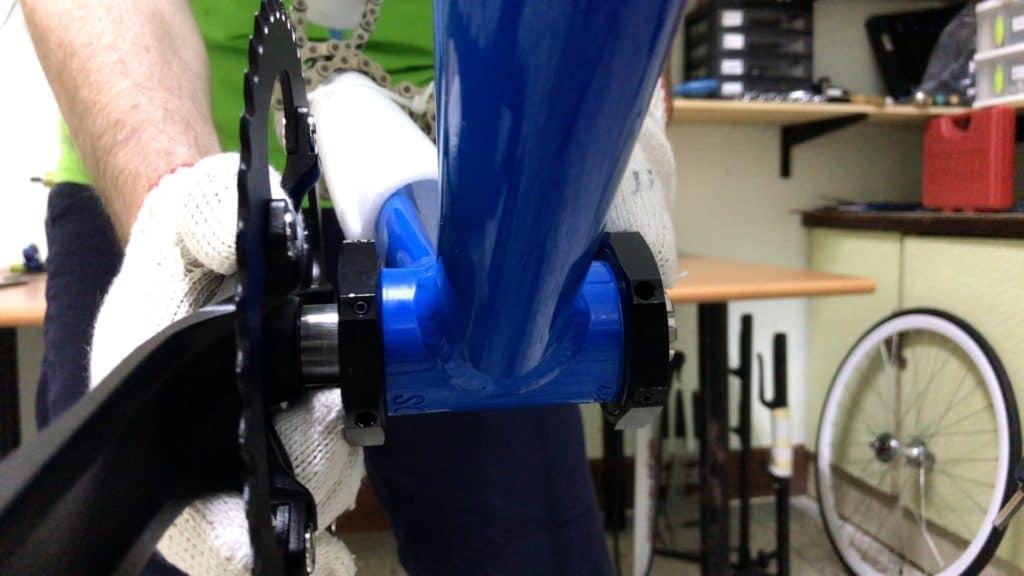 Installing Single Speed Crank