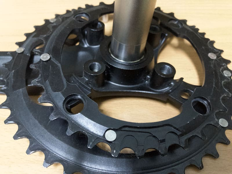 Middle Large Chainrings Position
