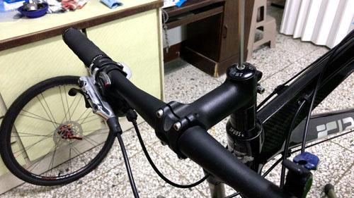 Mountain Bike Headset Top Cap Removal