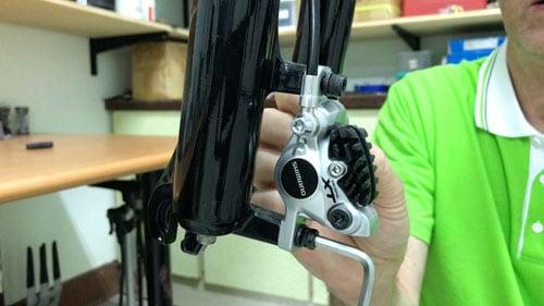 Mountain Bike Remove Brake Caliper