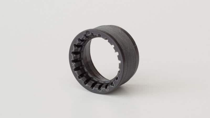 nylon locknut for square taper bottom bracket