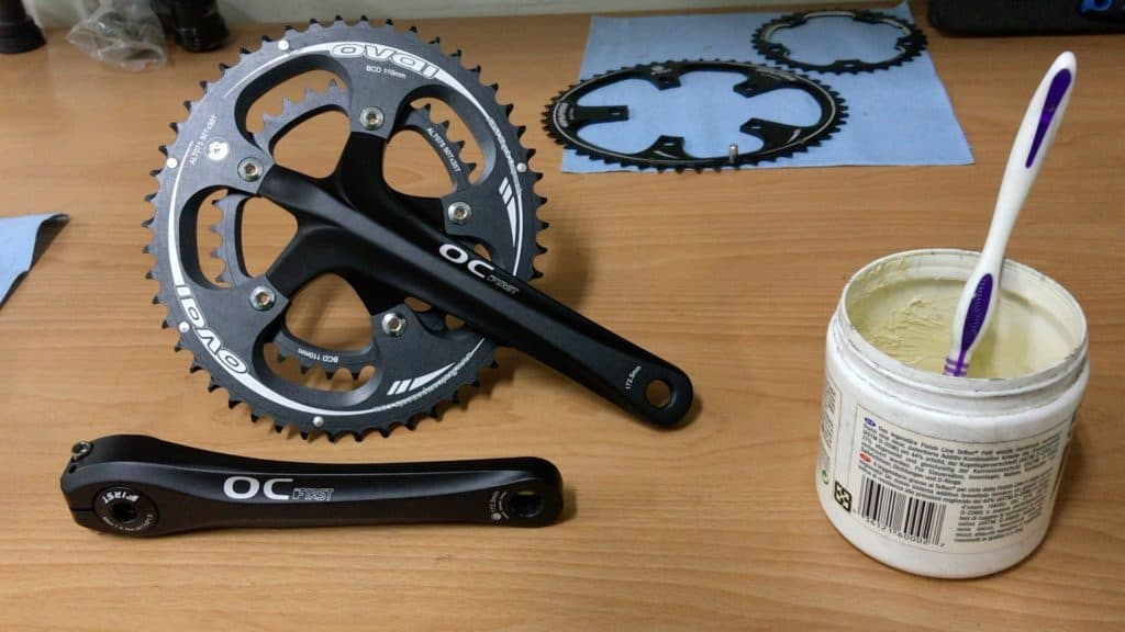 Oval Chainring Crank