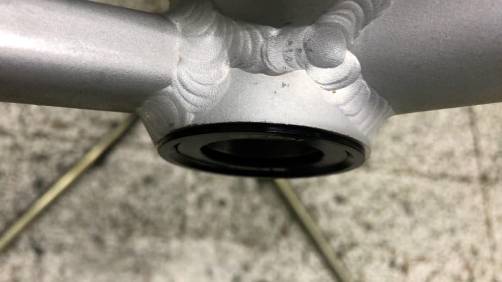 Pf30 Bottom Bracket Installed completely
