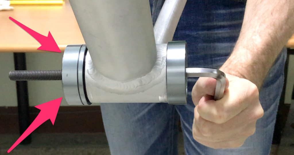 Pressing Pf30 Bottom Bracket into bb shell
