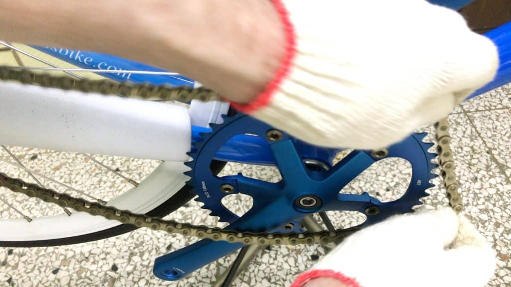 Removing Single Speed Chain