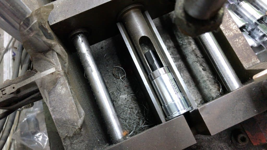 Sealed Bearing Pressed into position