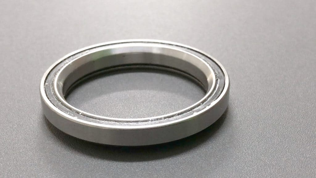 Sealed Side of a Sealed Bearing