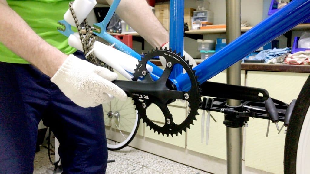 Single Speed Crank Fitted