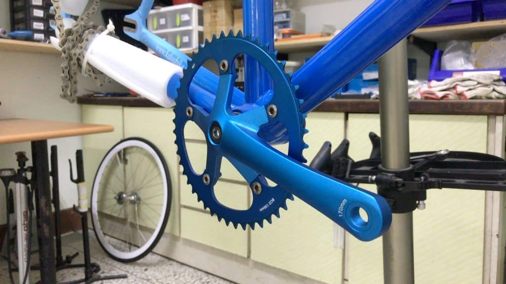 Single Speed Crank Square Taper example