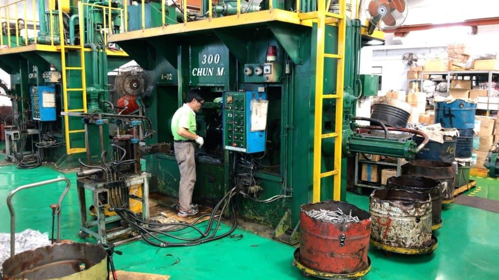 Spindle Hydraulic Press