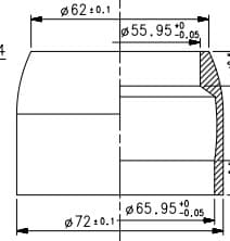 Tapered Head Tube Integrated Cable diagram