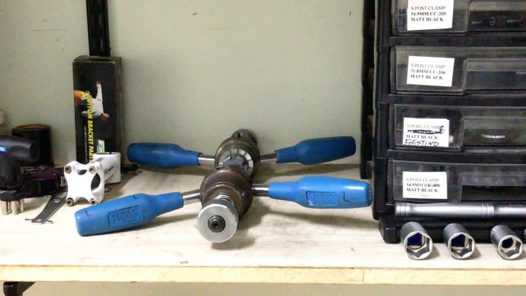 BB shell Tapping & Facing Tool