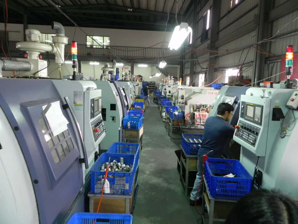 Cnc milling Machines on Factory Floor